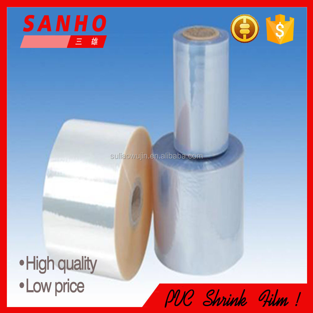 PVC shrink sleeve roll soft pvc film in china producer