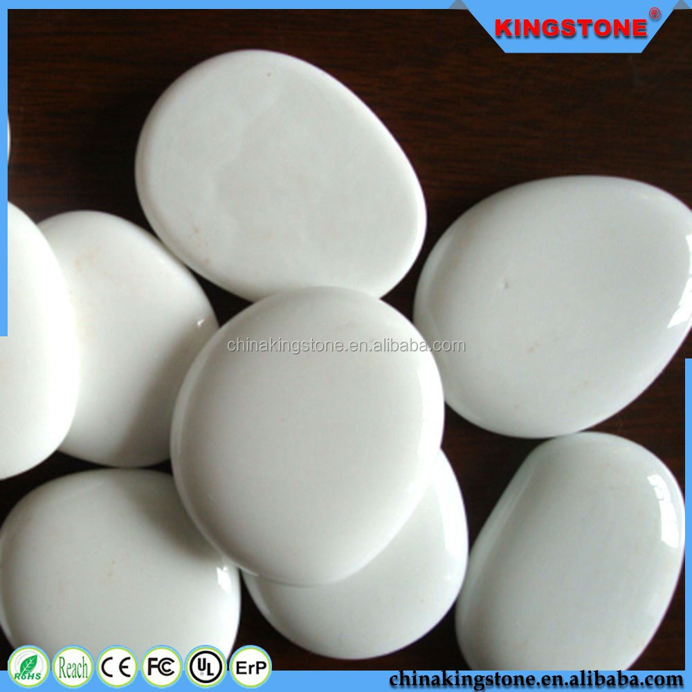 Superior quality carefully selected yellow river pebble,natural color stone pebble with good quality,tumbled white pebble stone