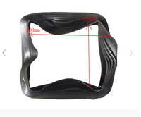 bus driver Seat rubber decoration cover seat base parts