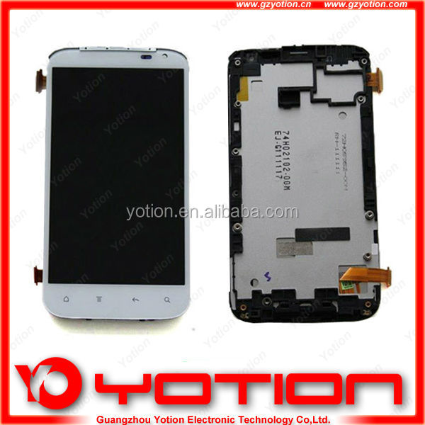 Lowest peice with high quality full mobile phone lcd for htc g21