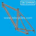 titanium MTB Bike Frame,Super Light titanium frame,latest titan bicycle frame TSB-ODM1201