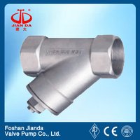 316L api cast steel y strainer with high quality