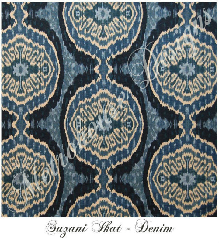 Ikat Textile ~ Color: Denim