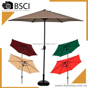 10feet outdoor umbrella /outside coffee umbrella / garden parasol / 2.7m promotion umbrella patio umbrella