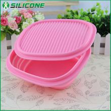 New products COL-02 lunch box with different color compartments