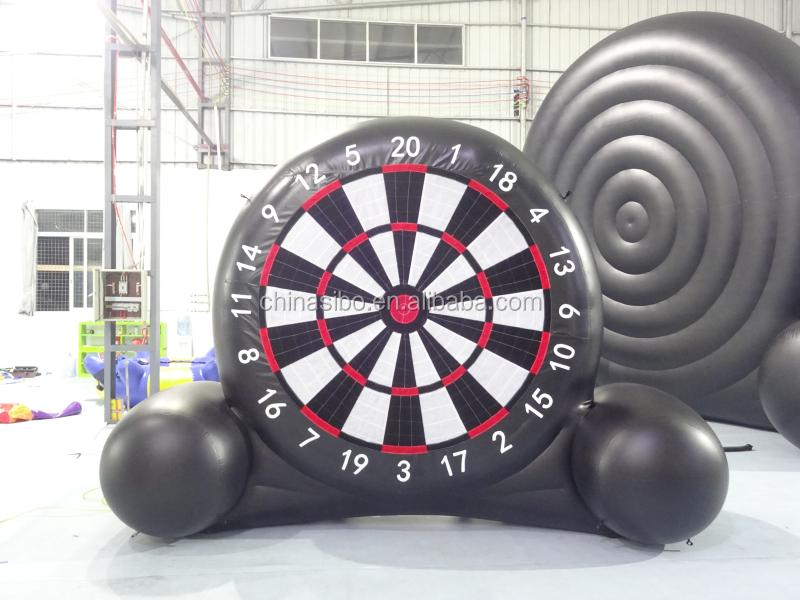 161109029 Giant Inflatable Soccer Darts,Velcro Ball Dart Game For Hot Selling