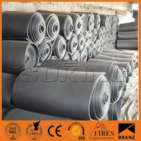 Elastomeric Foam Rubber Thermal Insulation In