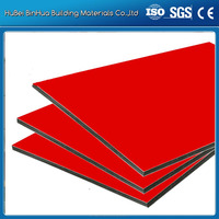 Advertising signboard aluminum/pe coated aluminum composite panel