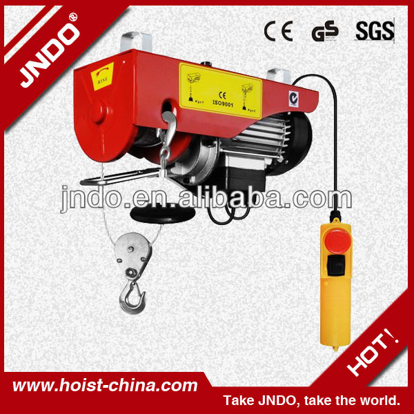 CE GS Certification small hoist crane |PA mini electric wire rope hoist
