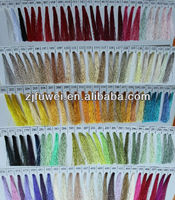polyester and rayon embroidery thread