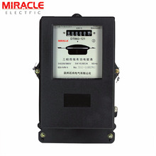 DT862 industry electricity use CT type three 3 phase analog energy kwh meter