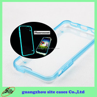 Super thin Transparent Crystal Clear tpu cell phone case for iphone 4 5 5c 6 6plus case