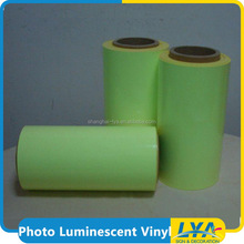 China factory night glow luminescent security film