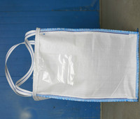 polypropylene jumbo bag open top flat bottom