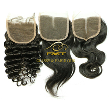 Hair vendors 100% virgin hair bundles with lace closure, reliable natural 4x4 silk base brazilian hair closure