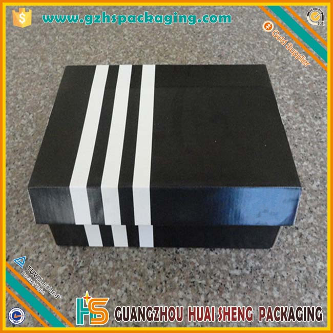 custom printed paper packaging factory directly Shoe Box For Sale