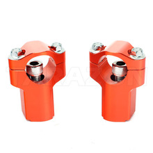High Performance Aluminum Motorcycle Spare parts handlebar risers for Dirt Bike ktm