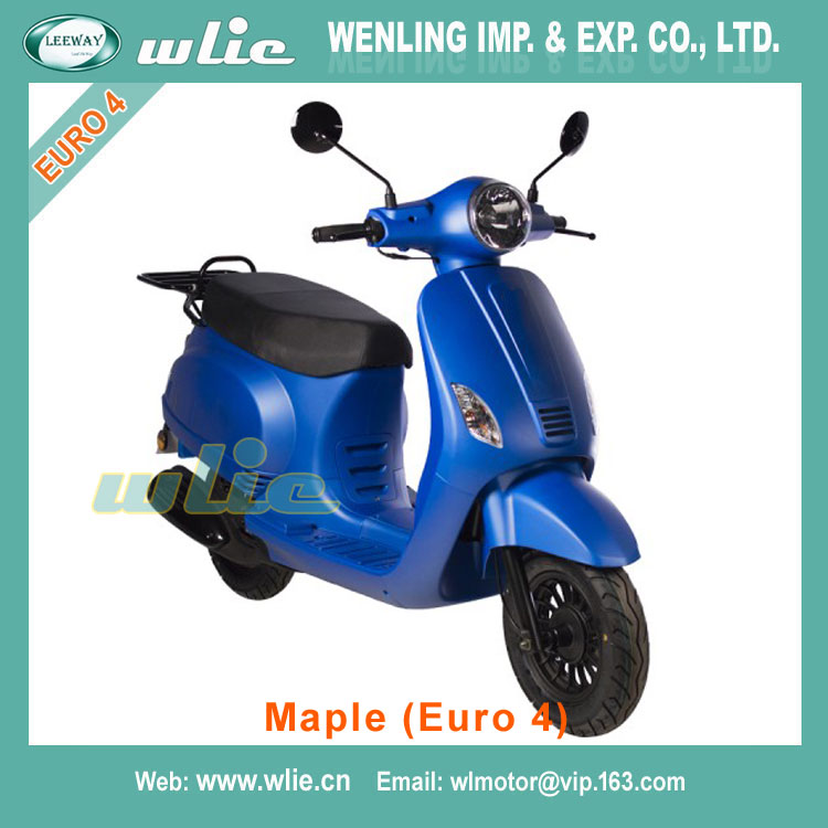 Fast delivery vino scooter price vespa vscooter vintage Euro4 EEC Scooter Maple 50cc, 125cc (Euro 4)