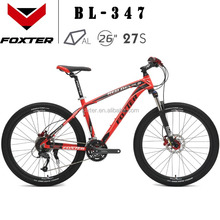 FOXTER BL347 CHINA FACTORY MOUNTAIN BIKE MTB 26'' Aluminium BICYCLE 27 SPEED