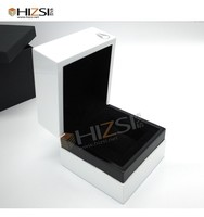 High End Watch Case Display Box Wooden Watch Box Single