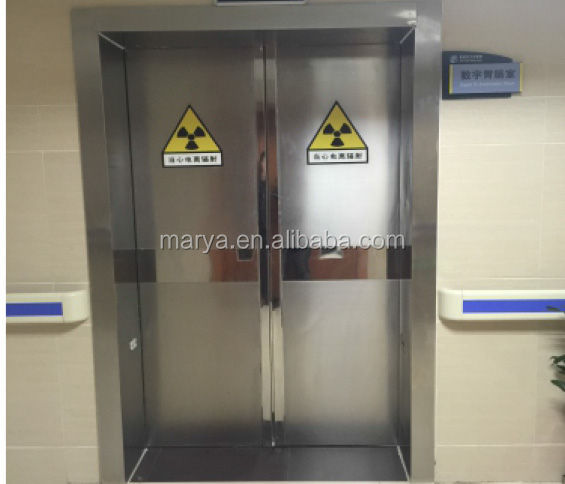 Automatic silding door for cleanroom