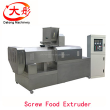 Twin screw extruder floating fish feed pellets production machine machinery price
