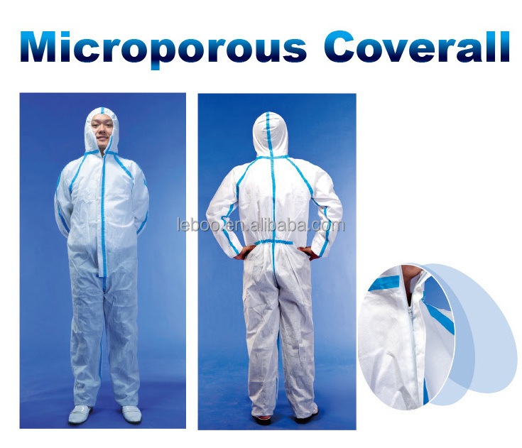 Free samples!!! CE and ISO approved type 4/5/6 coverall