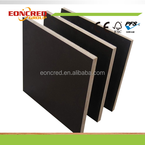 Hot Press Two Time Hardwood or Poplar Concrete Formwork Plywood