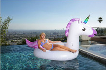 Unicorn Pool Float Giant Luxury Inflatable Emoji for Kids and Adults