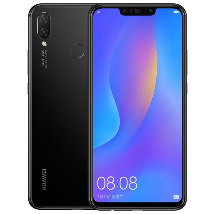 Original Cheap Huawei nova 3i ram4GB rom128GB Dual Back Dual Front Camera Face Fingerprint ID 6.3 inch <strong>Android</strong> 8.1 Huawei <strong>Phone</strong>