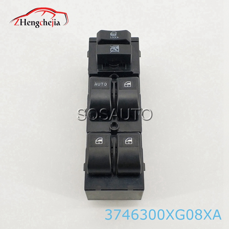 Hot selling  new brand Auto window Left front glass lifter switch For Great Wall 3746300XG08XA