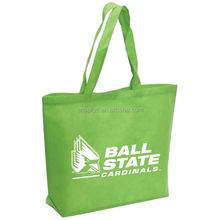 Custom logo printing trade show advertising Foldable non-woven tote bag