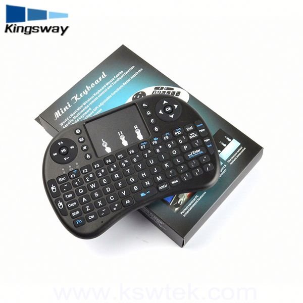 2.4g Wireless I8 Air Fly Mouse Touch Pad Mini Keyboard for gamers
