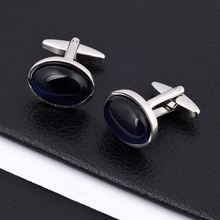 Newest stainless steel military cufflink in competitive price