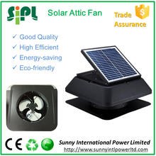 Good market!14 inch Air Cooling Solar Energy Functioned Attic Ventilating Fan