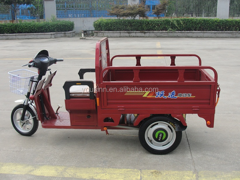 china electric or battery powered loader / cargo tricycle