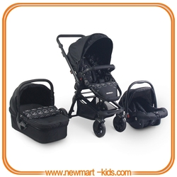 Baby Stroller with Carrycot and Carseat EN1888:2012 certificate