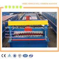 XN-836 corrugated profile roof panel roll forming machine