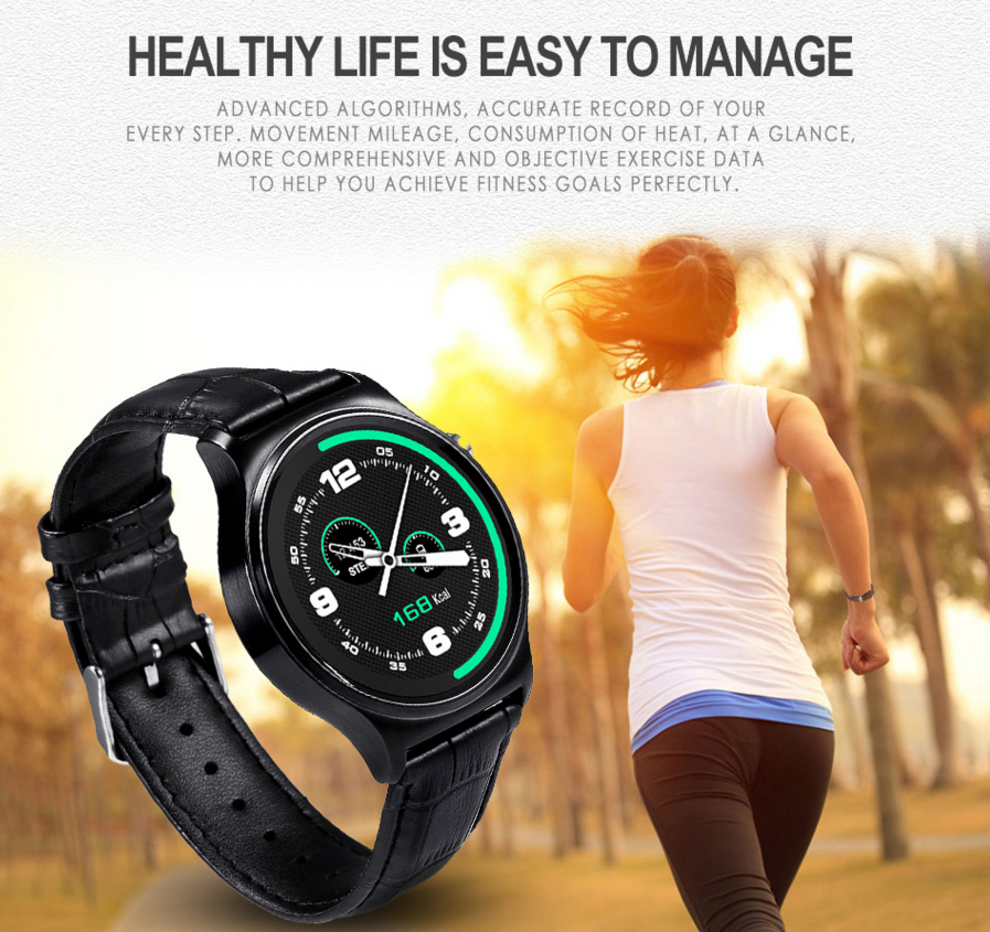 Smart Watch MTK2502c Heart Rate Monitor Fitness Tracker GW01 ios Smart watch phone