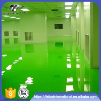 Waterproof and anti-dust epoxy resin flooring paint coating
