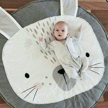 S32251W Rabbit Bear Baby Blanket Infant Cartoon Game Play Mats Carpet Kids Toy Climb Mat Indoor
