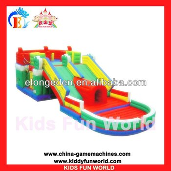 2016 playground outdoor inflatable bouncer, PVC air bouncer