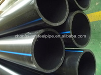 HDPE yellow line poly pipe underground plastic gas pipe