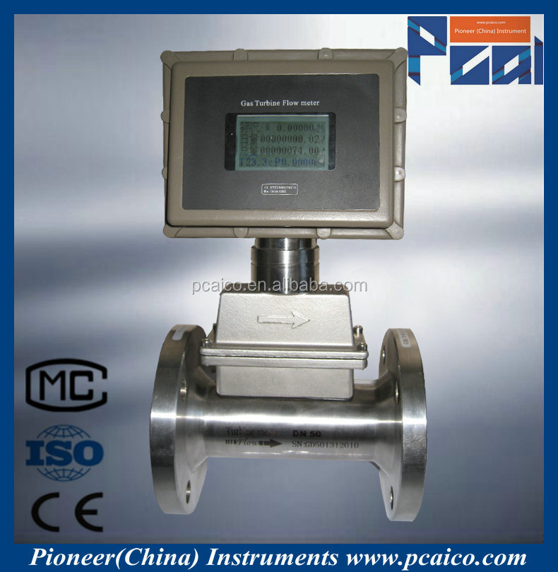 LWQ gas turbine natural gas flow meter