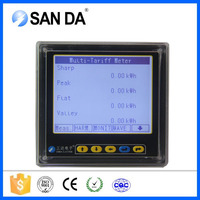 Smart Energy Management System Meter Measure Current Voltage Unbalance LCD Remote Control Power Meter