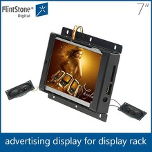 Flexible 7 inch open frame screen, frameless advertising display, lcd display screen