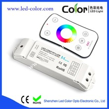 Wireless RF Remote Single Color/CCT/RGB/RGBW LED Strips Touch Controller