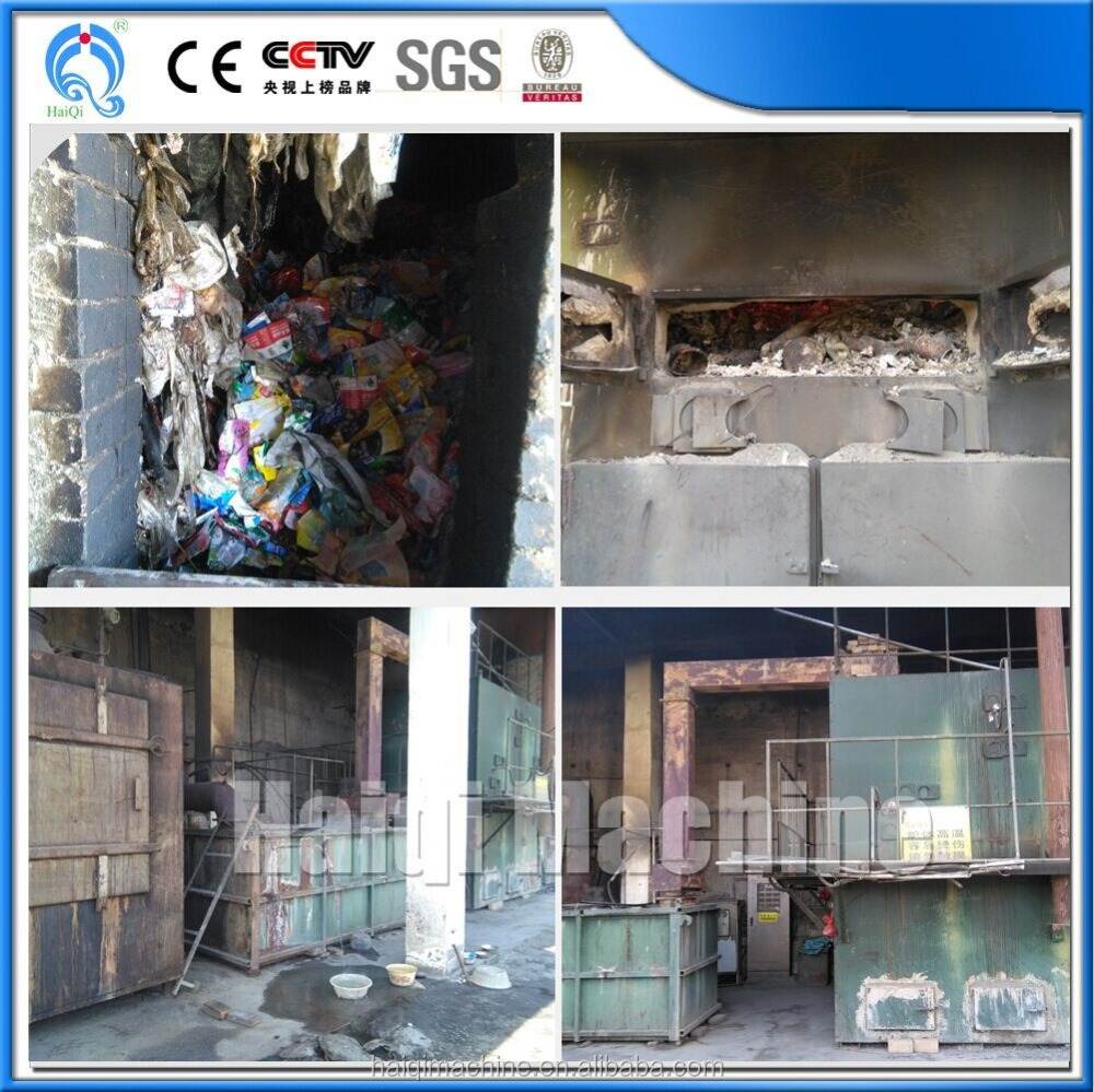 hot sale do without sorting mini incinerator, incinerator for poultry