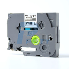 Great Quality Compatible For P-touch Laminated Tz Label Tape Cartridge 12mmx8m (TZe-231 Black on White)