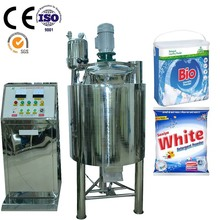 Free formulas Stainless Steel washing Powder detergent production line